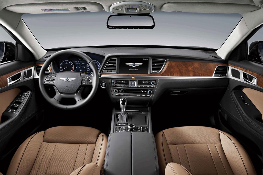 Hyundai Genesis 2015 interior
