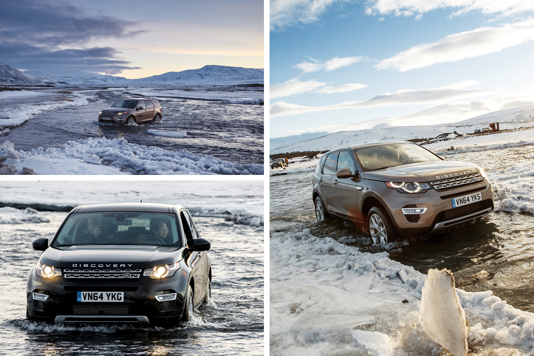 Land Rover Discovery Sport SUV 2015